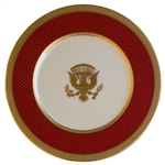 Ronald Reagan White House Service Plate Made for State Dinners -- THE WHITE HOUSE / 1981