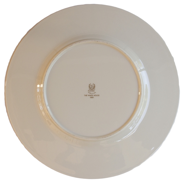 Ronald Reagan White House Service Plate Made for State Dinners -- ''THE WHITE HOUSE / 1981''