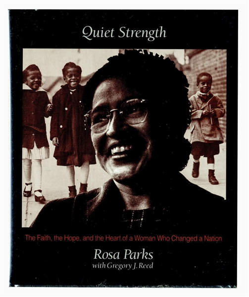 Rosa Parks Signed Copy of ''Quiet Strength''
