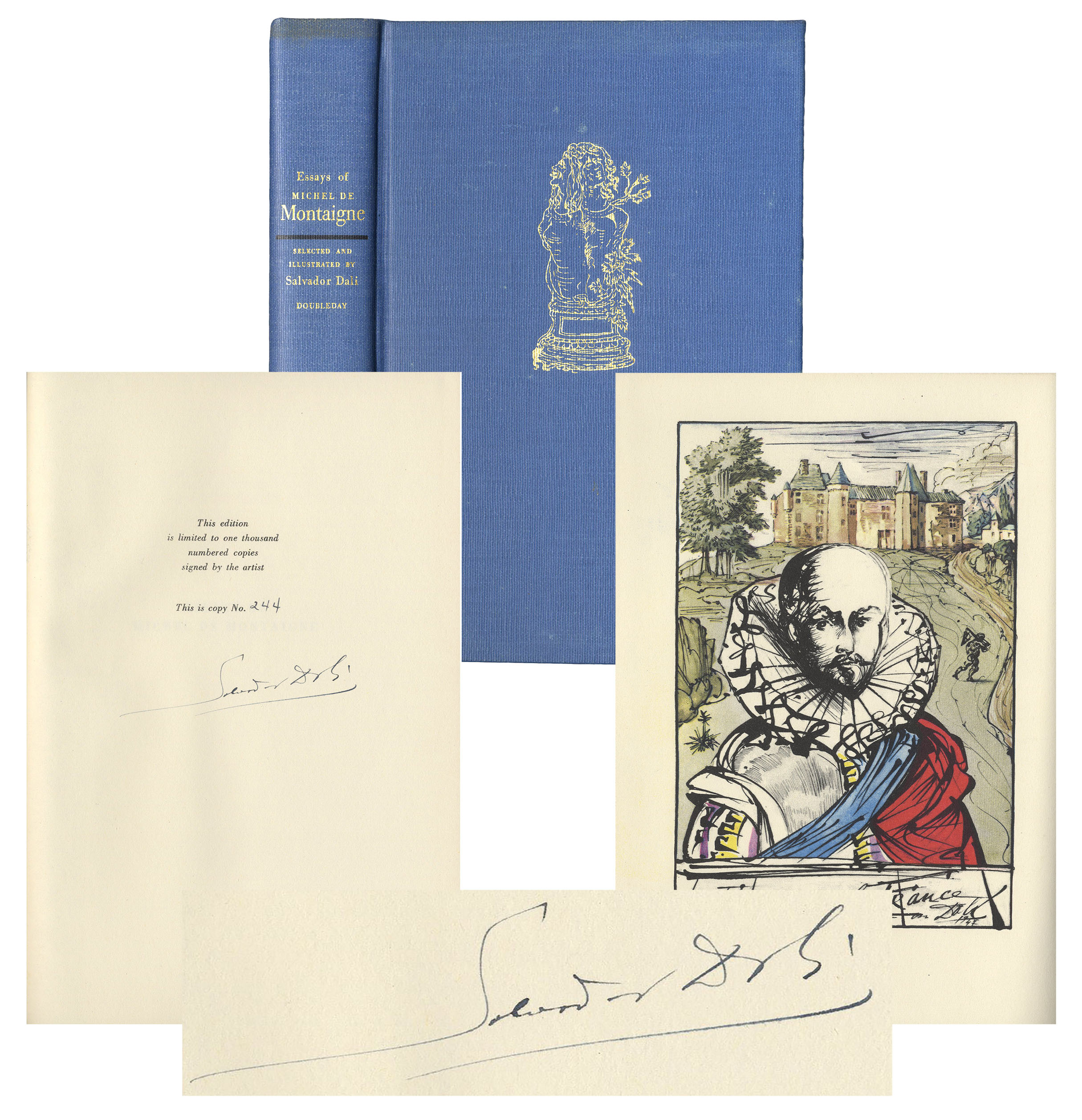 essays on michel de montaigne salvador dali Find helpful customer reviews and review ratings for essays of michel de montaigne [translated by charles cotton] selected and illustrated by salvador dali at amazoncom read honest and unbiased product reviews from our users.