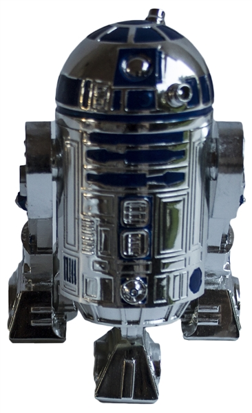 Star Wars Silvered Miniature of R2-D2 -- One of Only 20 Made