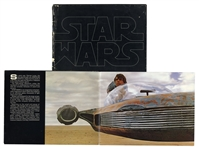 Star Wars Publicity Book Measuring 14 x 11 -- Given to Media & Theatre Owners to Promote the Film