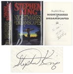 Stephen King Signed Copy of Nightmares & Dreamscapes