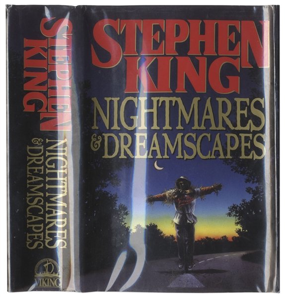 Stephen King Signed Copy of ''Nightmares & Dreamscapes''