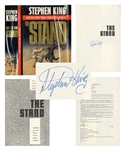 Stephen King Signed Copy of The Stand -- Complete & Uncut Edition