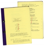 The Empire Strikes Back Script With Unique Red Coding # on Each Page From Original Production