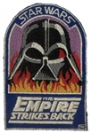 Vader in Flames Crew Patch From The Empire Strikes Back