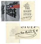 Tom Wolfe Signed First Printing of The Right Stuff, His Landmark Book on the Mercury 7