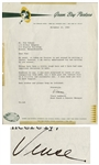Vince Lombardi Letter Signed From 1965 as Coach of the Green Bay Packers -- ...Things have been a little rough here and I have had some important decisions to make...