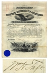 William Howard Taft Military Appointment Signed as President