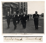 Winston Churchill Signed 10 x 8 Photo