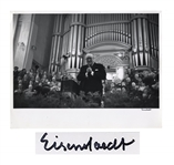 Alfred Eisenstaedt Signed 14 x 11 Photograph of Winston Churchill