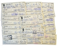Lot of 25 Bubba Smith Personal Checks Signed