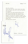 Albert Speer Letter Signed -- ...You could do me a huge favor if you could make me a copy of the interview with Phil Donahue... -- 1976