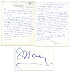 Mary Astor Autograph Letter Signed -- ...an audience spots a phony a mile off...people ask you to read their manuscripts...just for an opinion - well I read them, and mostly they are junk...
