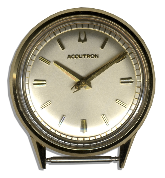 Duke & Duchess of Windsor Owned Bulova Accutron Watch