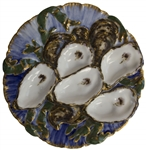 Rutherford B. Hayes White House Oyster Plate -- Unique, Colorful Design Ideal for Display