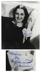Olivia de Havilland Signed Photo as Melanie from Gone With the Wind -- 11 x 14