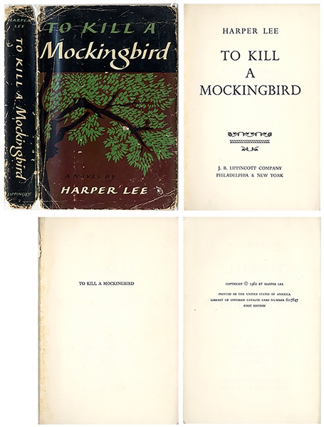 To Kill a Mockingbird First Edition, First Printing -- In the First Printing Dust Jacket