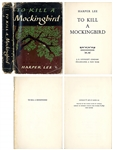 """To Kill a Mockingbird"" First Edition, First Printing -- In the First Printing Dust Jacket"
