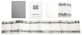Every Building on the Sunset Strip by Edward Ruscha, First Edition From 1966 -- With Rare Original Metallic Slipcase
