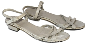 Greta Garbo Dress Sandals -- Owned And Worn by the Reclusive Screen Siren