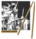John Bonhams Custom-Made Drum Sticks Used by Bonham in the mid-1970s with Led Zeppelin