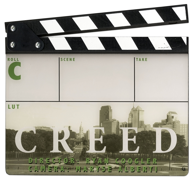 ''Creed'' Clapperboard -- With COA From MGM