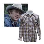 Heath Ledger Plaid Shirt From Brokeback Mountain -- With a COA From Focus Features