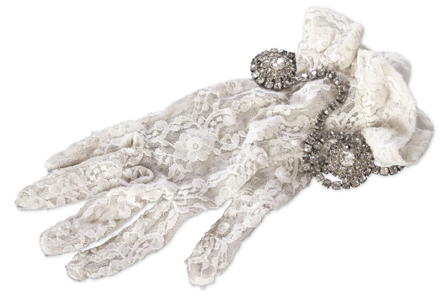 Prince Worn Lace Glove From His ''Purple Rain'' Concert in 1984