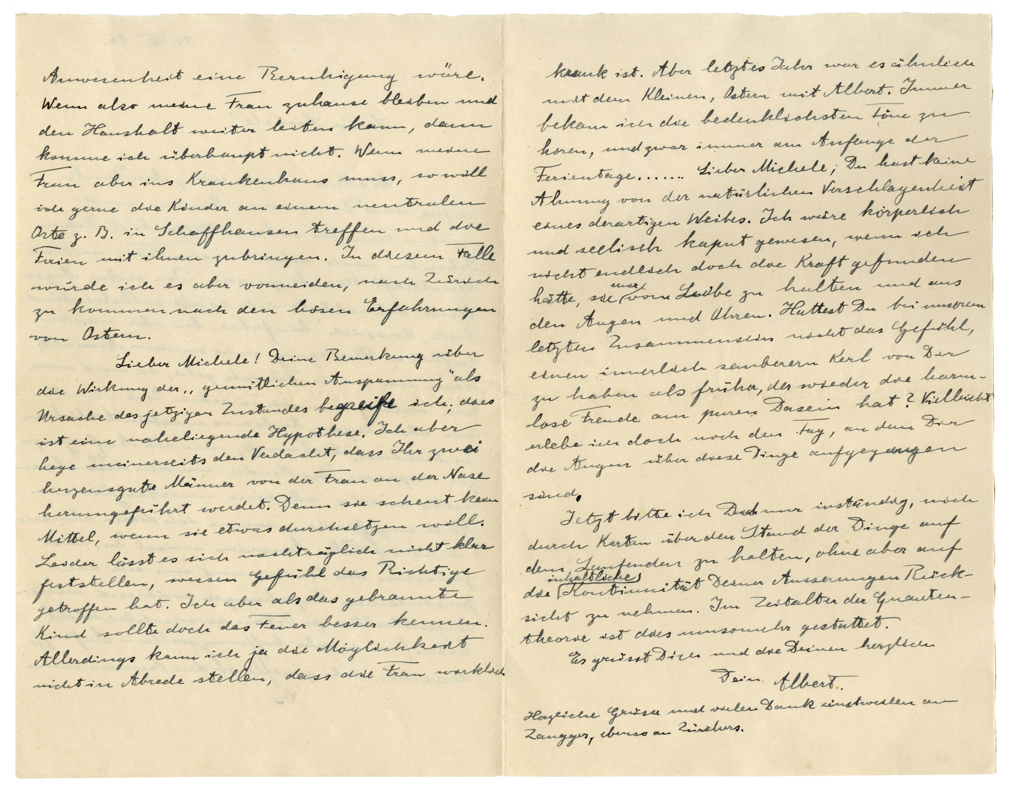 einstein letter to phyllis Essays and criticism on albert einstein - critical essays.