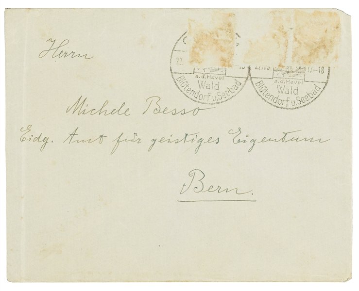Albert Einstein Autograph Letter Signed in 1932 on the Economy & His Nobel: ''...I am neither socialist nor communist...unskilled workers - will be brought down to an ignoble subsistence level...''