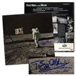 Buzz Aldrin Signed Album -- With PSA/DNA COA