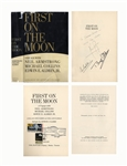 Apollo 11 Crew-Signed First Edition of First on the Moon -- Signed by Neil Armstrong, Buzz Aldrin & Michael Collins