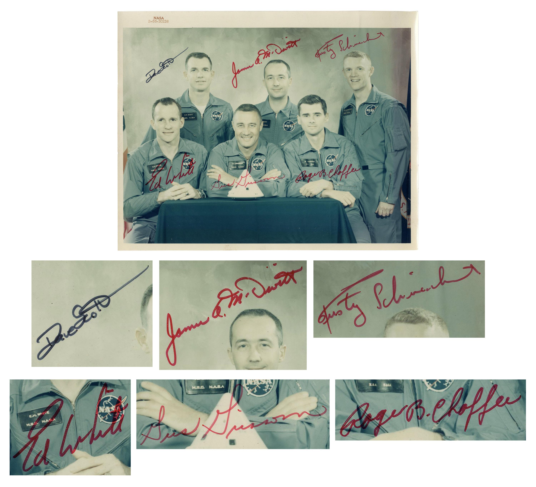 Gus Grissom autograph