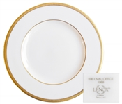 Lenox China Plate From the Bill Clinton White House
