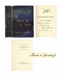 Charles Lindbergh 1953 Signed Copy of The Spirit of St. Louis