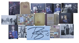 David Bowie Signed Limited Edition of From Station to Station Travels With Bowie 1973-1976
