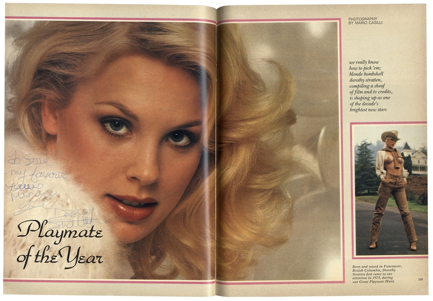 Dorothy Stratten Signed ''Playboy'' June 1980 Issue Featuring Stratten as ''Playmate of the Year''
