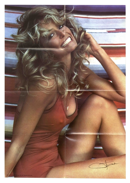 ''The Poster'' That Defined a Decade -- From the Personal Collection of Farrah Fawcett