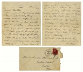 Franklin D. Roosevelt Autograph Letter Signed From Warm Springs & Signed Cover -- ...we have 34 patients & while there will be a falling off over Christmas...we expect to heave 50...