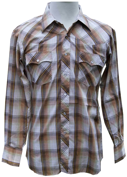 Heath Ledger Plaid Shirt From ''Brokeback Mountain'' -- With a COA From Focus Features