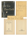 Helen Keller Signed Copy of Her Book, Let Us Have Faith