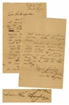 Iwo Jima Flag Raiser, Ira Hayes Autograph Letter Signed From 1945
