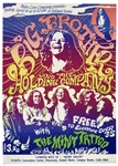 One of the Rarest of 1960s Rock Posters -- Janis Joplin & Big Brother and the Holding Company Poster From April 1968 -- Featured in Art of Rock