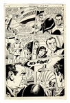Aquaman Original Art by Jim Aparo -- #43 Edition From 1969 Featuring Aquagirl