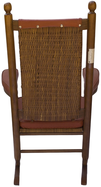John F. Kennedy's Rocking Chair, Used by JFK as President