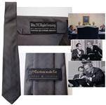 Lyndon B. Johnson Owned Necktie, Custom-Made for Him