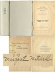 Margaret Mitchell Signed Copy of Gone With the Wind -- With PSA/DNA COA