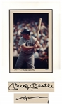 Mickey Mantle Signed 16 x 20 Limited Edition Photo -- With Upper Deck COA